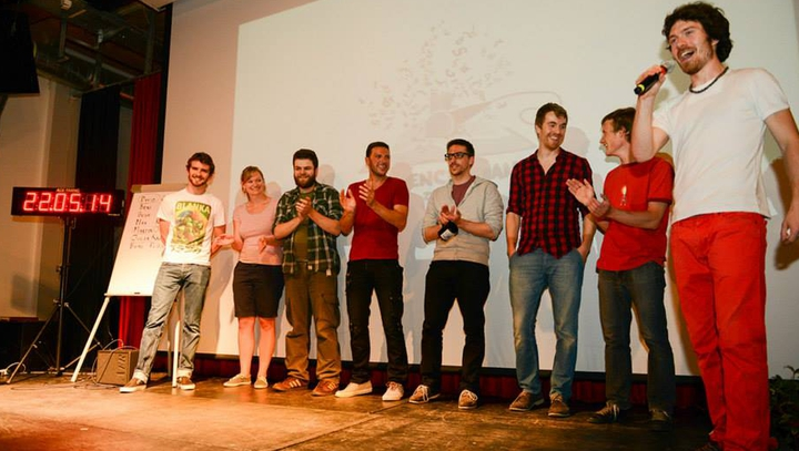 A fantastic crew of slammers excited the audience at the 8th Science Slam Zurich - an unforgettable night!